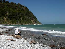 New Zealander Fishing