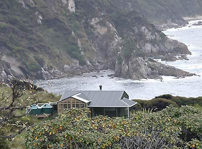 Long Harry Hut Stewart Island