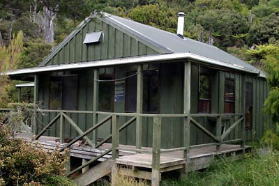New Zealand Tramping Hut