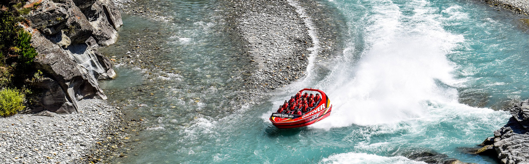 Jetboating Track New Zealand