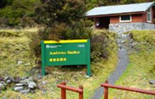 Andrews Shelter Campsite . Arthur's Pass National Park