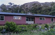 Carrington Hut . Arthur's Pass National Park