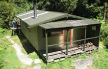 Glaisnock Hut . Fiordland National Park