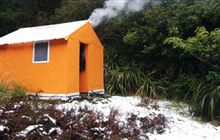 Gold Creek Hut . Ruahine Forest Park