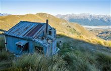 Heather Jock Hut . Whakaari Conservation Area