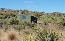 Martins Creek Hunters Hut . Rakiura National Park, Stewart Island/Rakiura