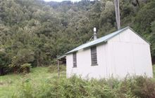 Tawa Hut . Waioeka Conservation Area