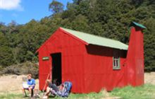 Wainui Hut . Abel Tasman National Park