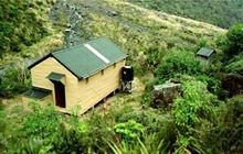Whymper Hut . Whataroa area