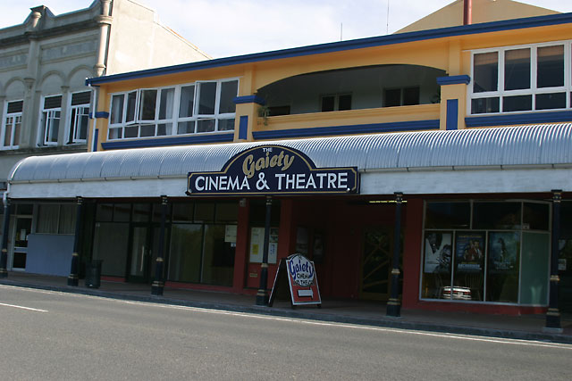 Wairoa New Zealand  city images : Gaiety Cinema &Theatre Wairoa Photo / Picture / Image : New Zealand